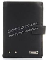 Прочный стильный бумажник портмоне из натуральной качественной кожи LOUI VEARNER art. LOU85-936A черный