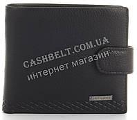 Прочный стильный кошелек из натуральной качественной кожи LOUI VEARNER art. LOU105-594A черный