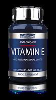 Scitec Nutrition Vitamin E 100caps