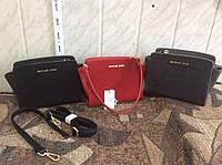 Сумка клатч повседневная женская Майкл Корс (Michael Kors) черный/красный/серый
