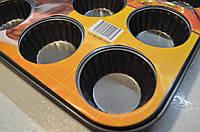 Форма для выпечки кексов антипригарное покрытие, фото 1
