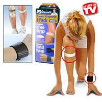 Магнитные повязки на запястье и колено Power Magnetic 3-Pack
