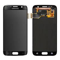 Экран с тач панелью Samsung Galaxy S7 черный
