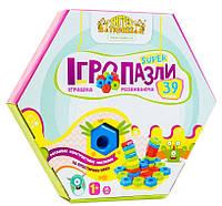 Развивающая игрушка Тигрес Игро пазлы Super 39 эл. (39315)