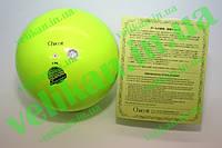 Мяч для гимнастики Chacott 65001 185мм/400г резина Lemon Yellow