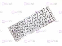 Оригинальная клавиатура для ноутбука Asus 80L, A8, A8C, A8Dc, A8E, A8F, A8Fm, A8H, A8He series, silver, ru