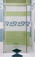 Душевые двери в нишу 80х205 см, профиль - матовый хром, стекло - прозрачное Am Pm (Ам Пм) Bliss - W55S-080D205MT