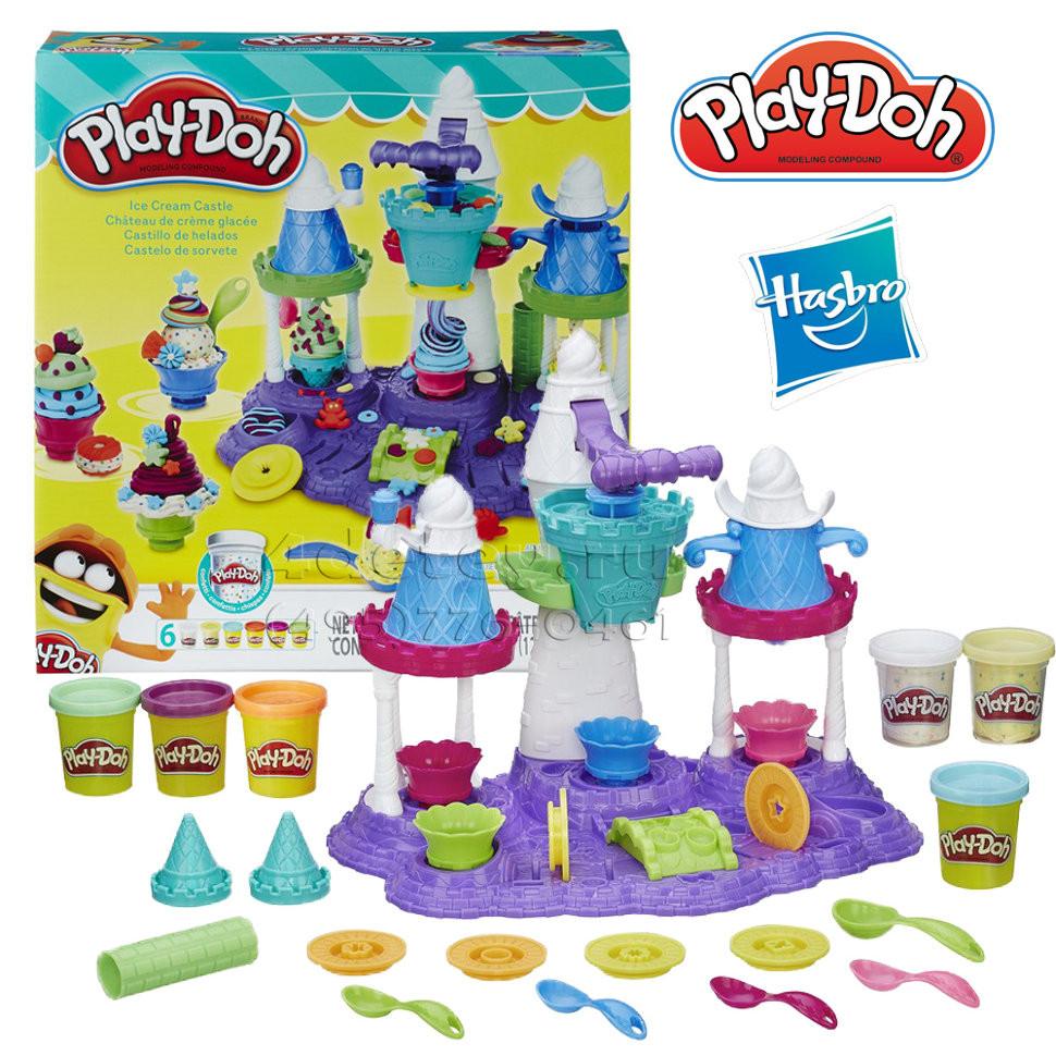 """Пластилин Play Doh Игровой набор """"Замок мороженного"""" B5523"""