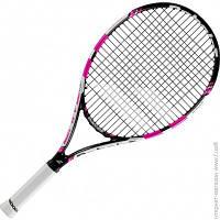 Ракетка Для Большого Тенниса Babolat Pure Drive Junior 25 black/pink Gr00, 2015 (140159/178)