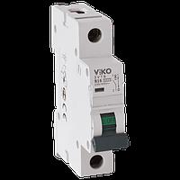 Автоматический выключатель 1P 20A 4,5kA х-ка С