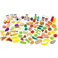 """Ігровий набір """"Продукти та їжа""""  (115 предметів)  KidKraft 63330"""
