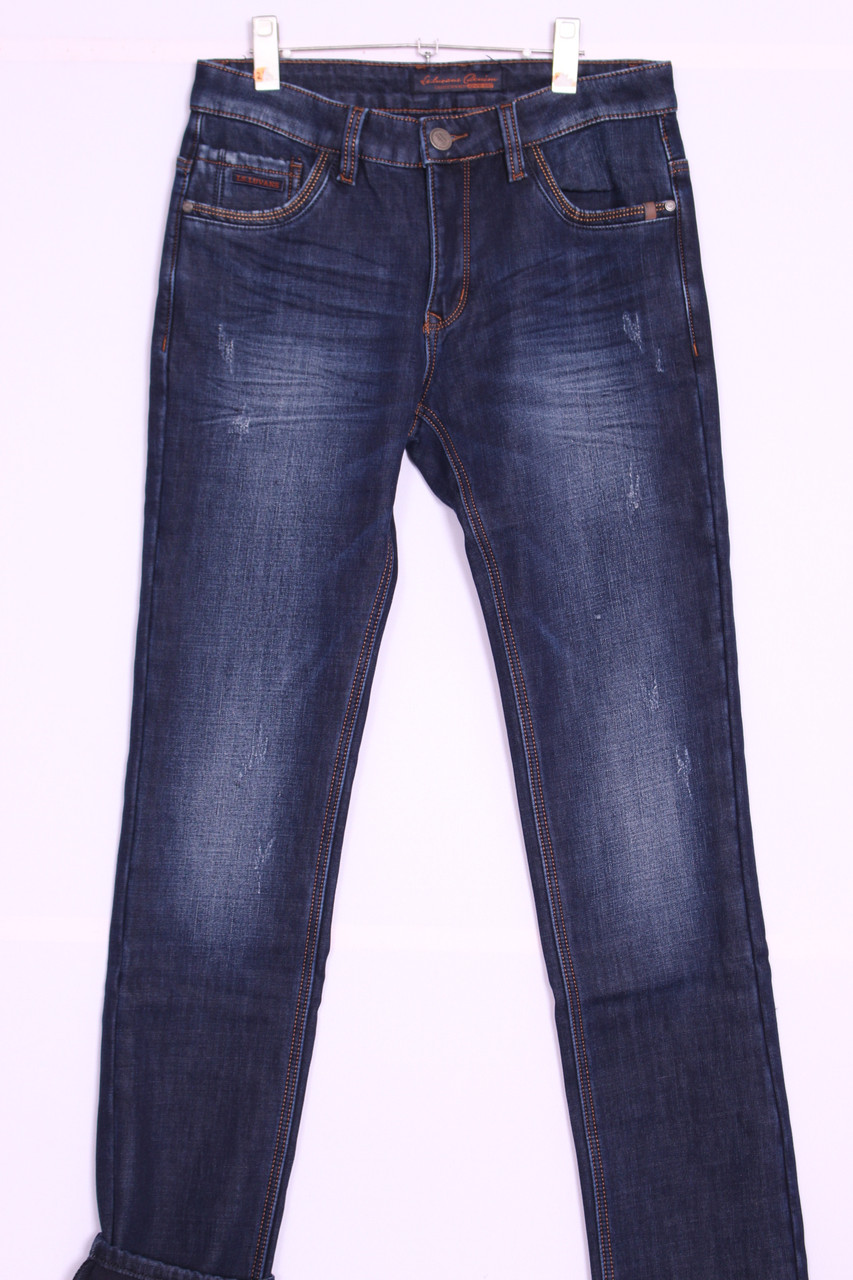 Утепленные джинсы мужские LS Luvans  (код 2651)