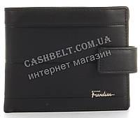 Прочный стильный кошелек из натуральной качественной кожи Frandiar art. FD83-1077A черный, фото 1