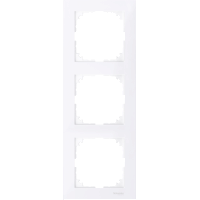 Рамка 3 местная Merten M-Pure Активно Белый MTN4030-3625