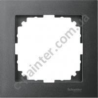 Рамка 1 местная Merten M-Pure Антрацит MTN4010-3614