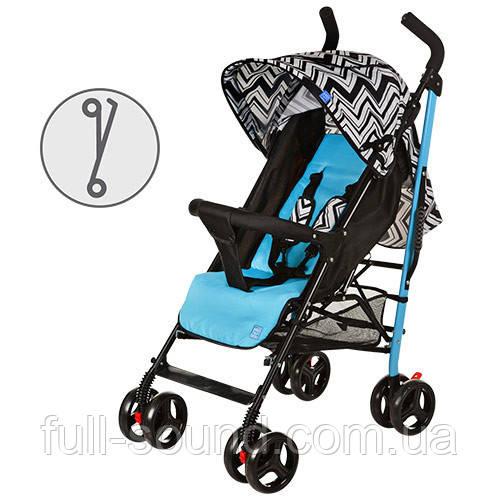 Детская прогулочная коляска М 2376 зигзаг