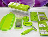 Овощерезка смарт слайсер зеленая, фото 1