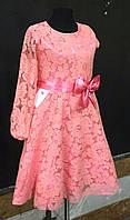 Платье на девочку гипюровое DEVA. ПОЛЬША.