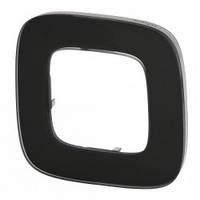 Рамка на 1 пост Legrand Valena Allure Черное стекло 755531