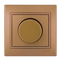 Диммер 1000 Вт светло-коричневый перламутр Mira Lezard
