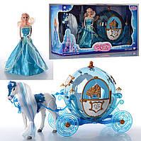 Карета 216A с куклой и лошадью