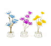 Цветок хрустальный (5 цветков) (15х5х5 см)