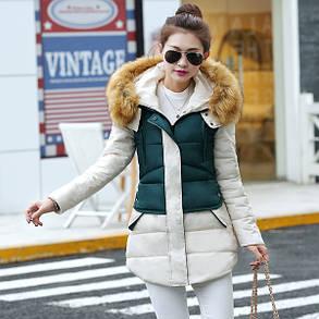 Куртка женская зимняя с мехом , фото 2