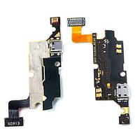 Шлейф для Samsung N7000/i9220 Galaxy Note с разъемом зарядки, микрофоном