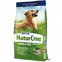 Happy Dog (Хэппи дог) NaturCroq Lamm&Reis 15кг для взрослых собак с ягненком и рисом