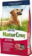 Happy Dog (Хэппи дог) NaturCroq Active 15кг корм для взрослых активных собак