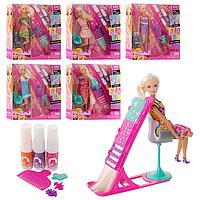 Куклы шарнирные Парехмахерский салон для окраски волос