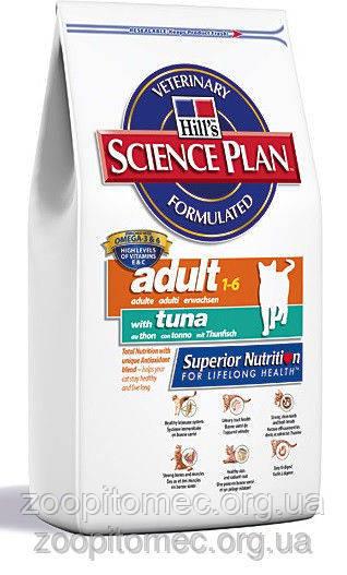 Hills (Хилс) Science Plan Feline MatureAdult 7 ActLongevity Tn-зрелая кошка +7 .Активное долголетие/тунец-2 кг