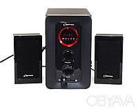 Акустическая система 2.1 OPT 338.(Сабвуфер+2 динамика=25Вт),FM,USB,CD