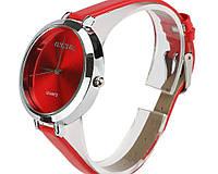 Женские часы красного цвета  Otsea (197)