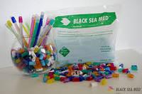 Наконечники для Слюноотсосов, насадки для слиновідсмоктувача  Black Sea Med™