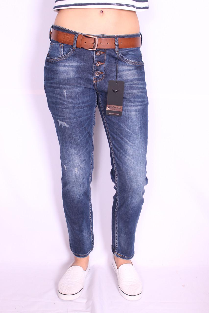 Жіночі джинси турецькі бойфренди Woox (код 830) 27ї розмір