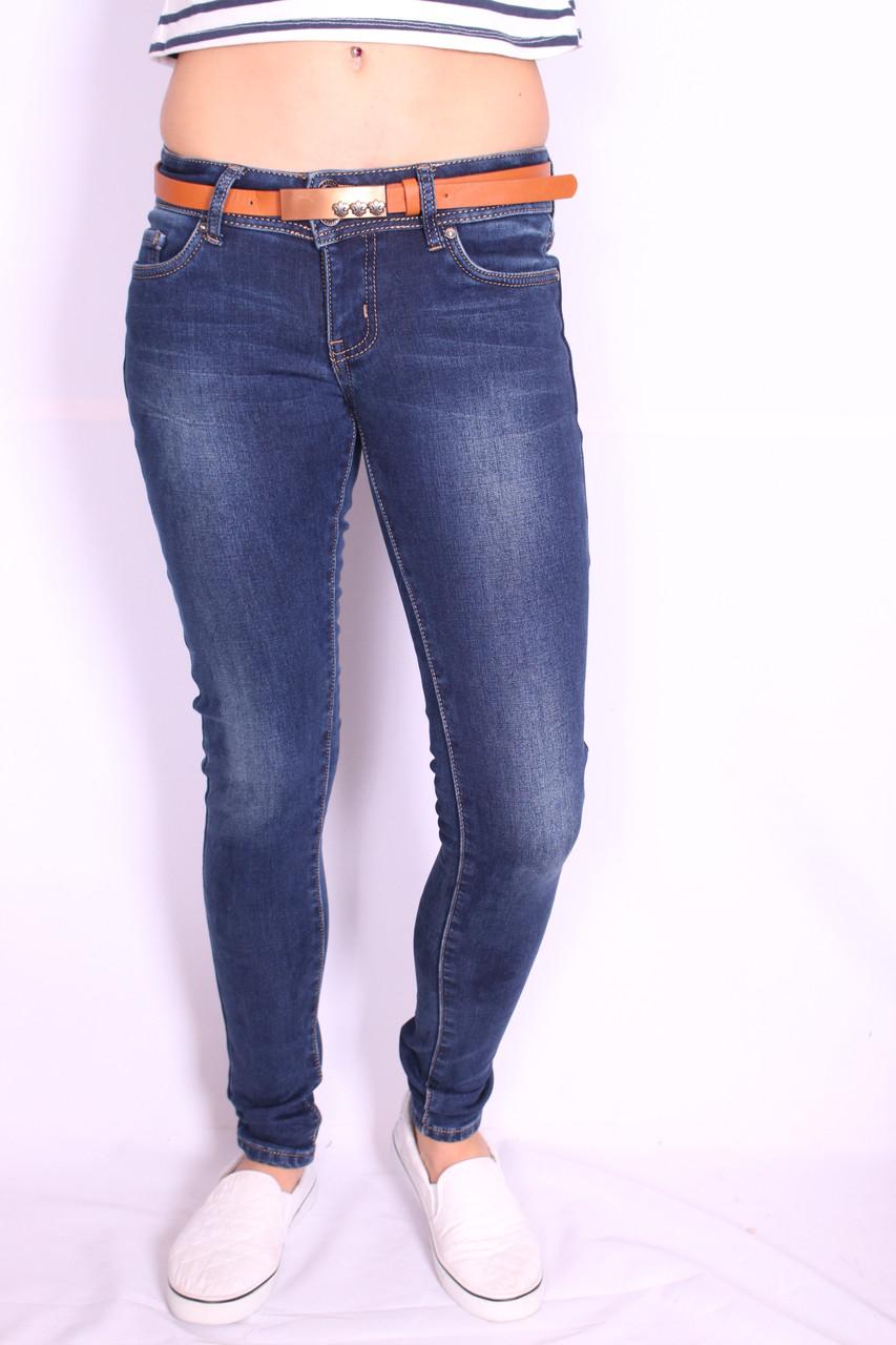 Зимние женские джинсы Cudi (код 9501)