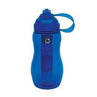 Бутылка для питья «On track» синяя