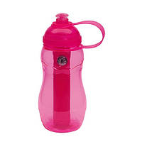 Бутылка для питья «On track» розовая