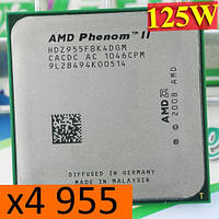 Процессоры (б/у) AMD Phenom II X4 955 Black Edition, 3,2ГГц, Tray (HDZ955FBK4DGM)