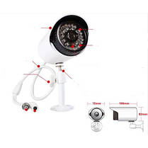 Внешняя цветная камера видеонаблюдения CCTV 529AKT, фото 3