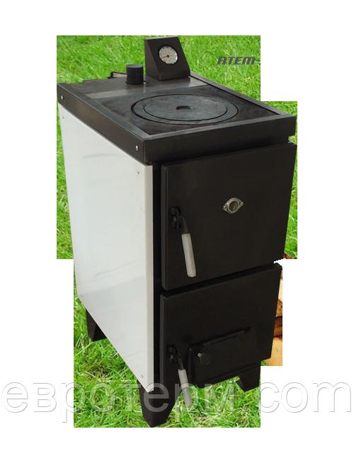 Твердотопливный котёл Житомир АКТВ-22 кВт с плитой