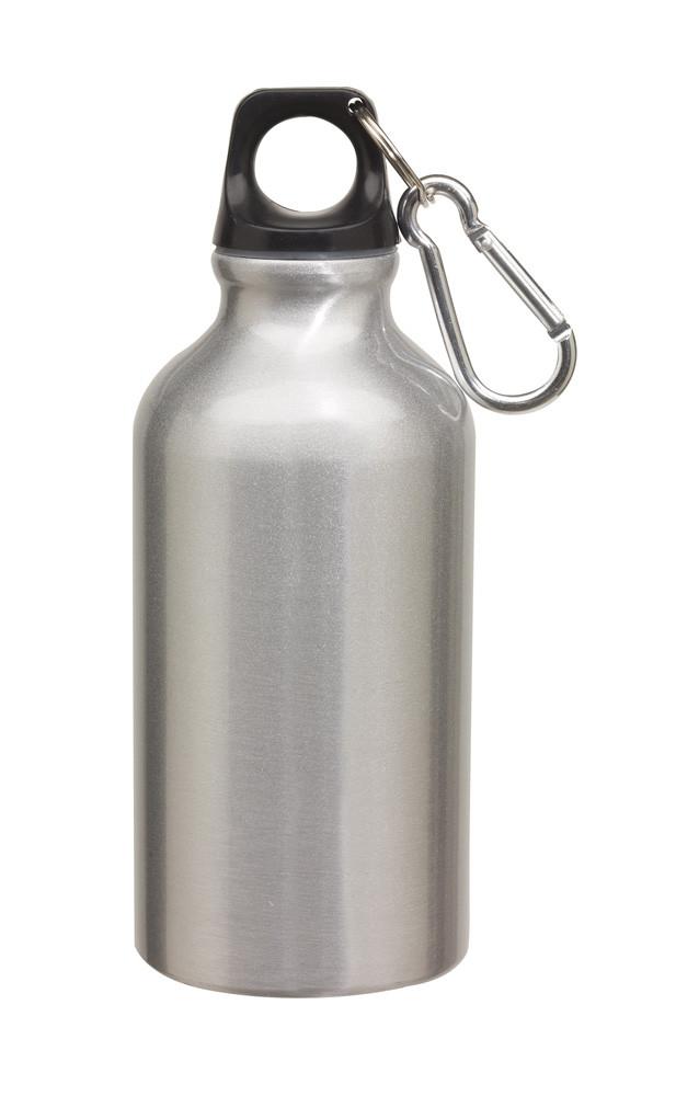 Бутылка для питья «Transit» серебристая