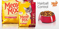 Корм для кошек Meow Mix Hairball Control 6,44 кг