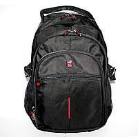 47081.001 Рюкзак для ноутбука деловой ортопедический чёрный Enrico Benetti