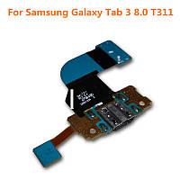 "Шлейф для Samsung T310 Galaxy Tab 3 8.0""/T311, с разъемом зарядки, микрофоном"