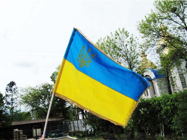 укринские флаги