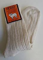 Мужские теплые носки из овчины Nebat - светлые и темные