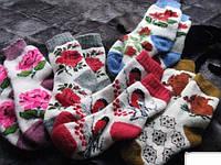 Женские шерстяные носки - овчина