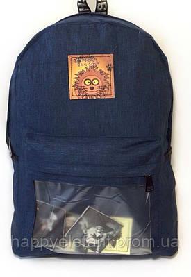 Рюкзак с картинками стильный кожаный рюкзак